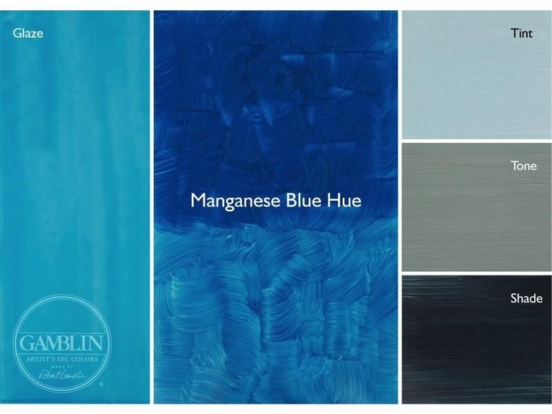 Gamblin Artist S Oil Colors 37ml Manganese Blue Hue Endeavours And Thinkplay Types Of Blue Colour Palette Art Blue Hues