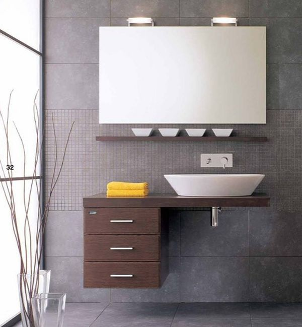 Ergonomic Floating Sink Cabinet Design For Space Conscious Homes