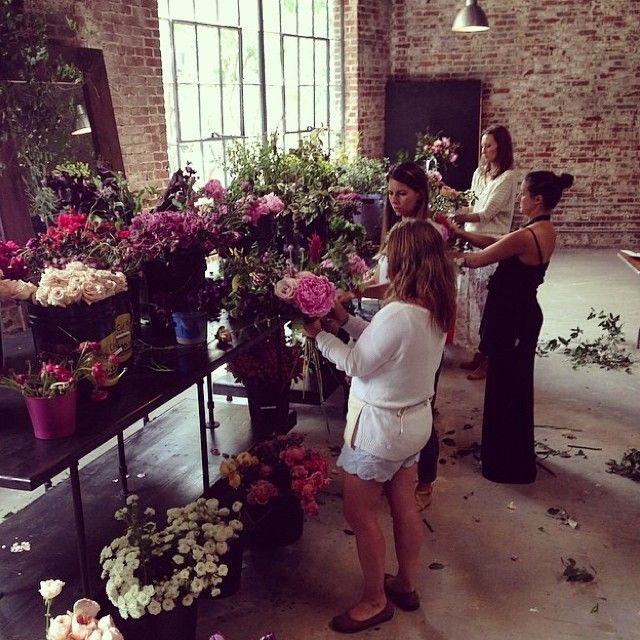 Jessica Zimmerman | zimmermanevents.com | Amy Osaba Events Workshop  #floraldesign #florist #jessicazimmerman #zimmermanevents #aoworkshop