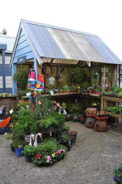 Herb Cottage Open Design Good For Live Herbs With Nearby Potting