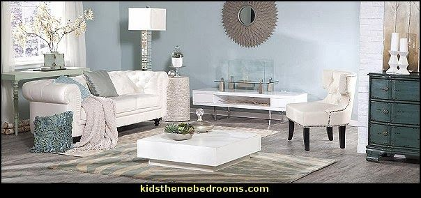 Luxe style hollywood theme living hollywood regency for Living room 0325 hollywood
