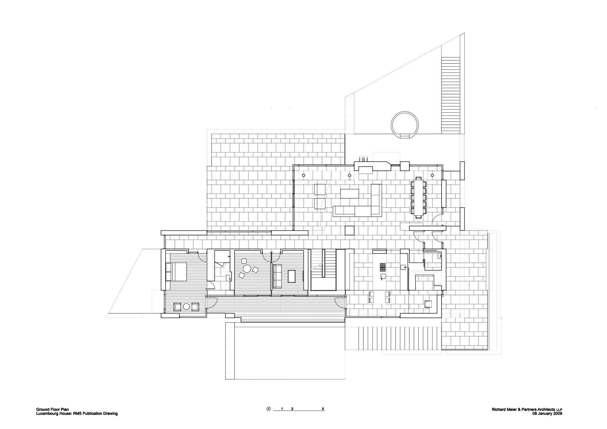 Casa Luxemburgo / Richard Meier & Partners