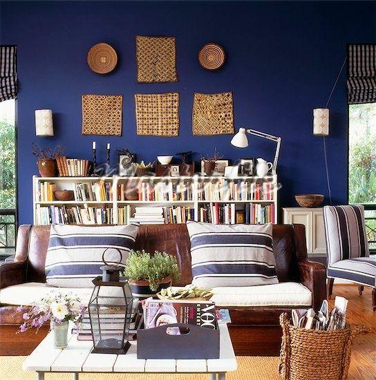Leather/fabric sofa combo.