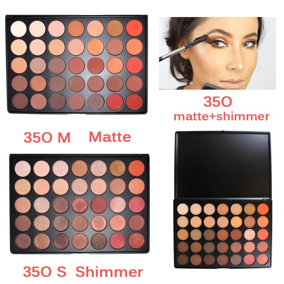 Newest 350 Palette 35 Color Eyeshadow Palette Earth Warm