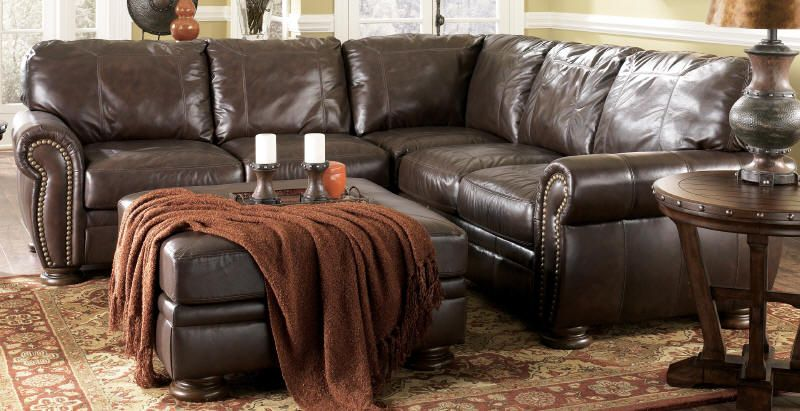 Leahter Sectional By Ashley Furniture Nice Leather Couch