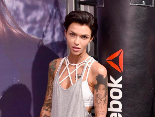 Ruby Rose Opens Up About Being Gender Fluid As A Kid And We Re Listening Hello Giggles Gender Fluid Fashion Ruby Rose Rose
