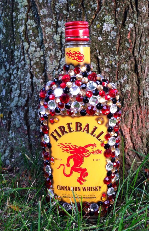 Decorated Alcohol Bottles For Birthday Stunning Bedazzled Liquor Bottle On Etsy $6500  November 1St3 Review