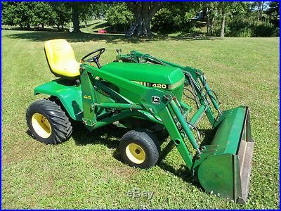 Google Image Result for http://outdoorpowertools.biz/wp-content/uploads/John_Deere_420_Riding_Lawn_Tractor_Front_Hydraulic_Loader_01_ivfq.jpg