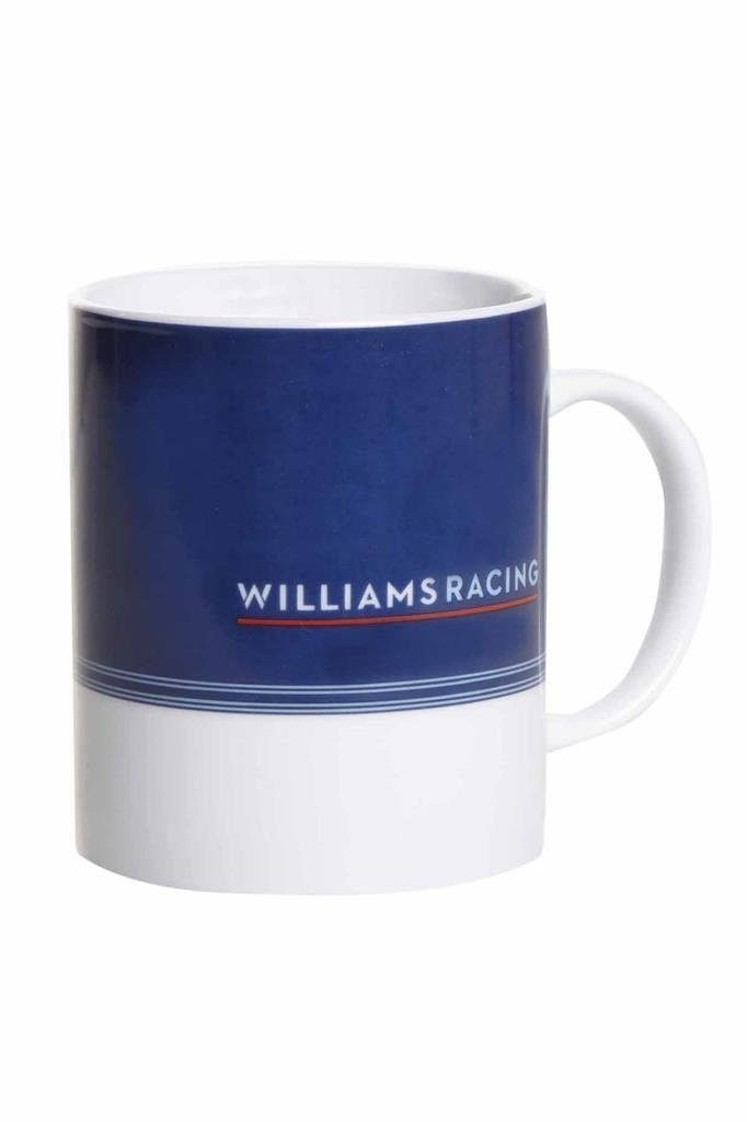 Williams Martini Formula 1 Racing Blue & White Mug produced by Hackett London