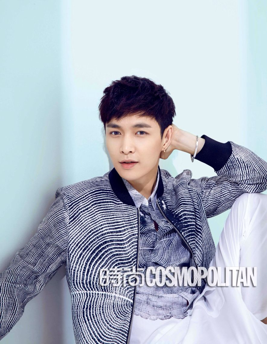 Lay 张艺兴for cosmopolitan
