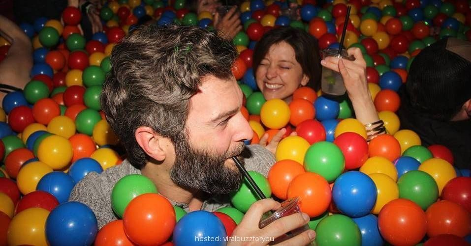 This Ball-Pit Bar Lets You Get Wasted And Relive Your Childhood All At Once