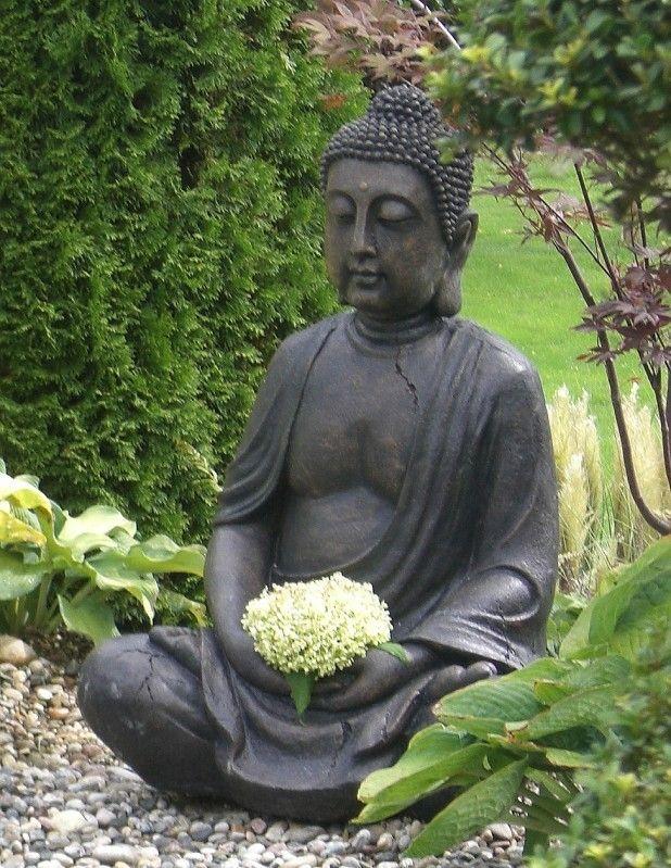 buddha figur garten zuhause image idee. Black Bedroom Furniture Sets. Home Design Ideas