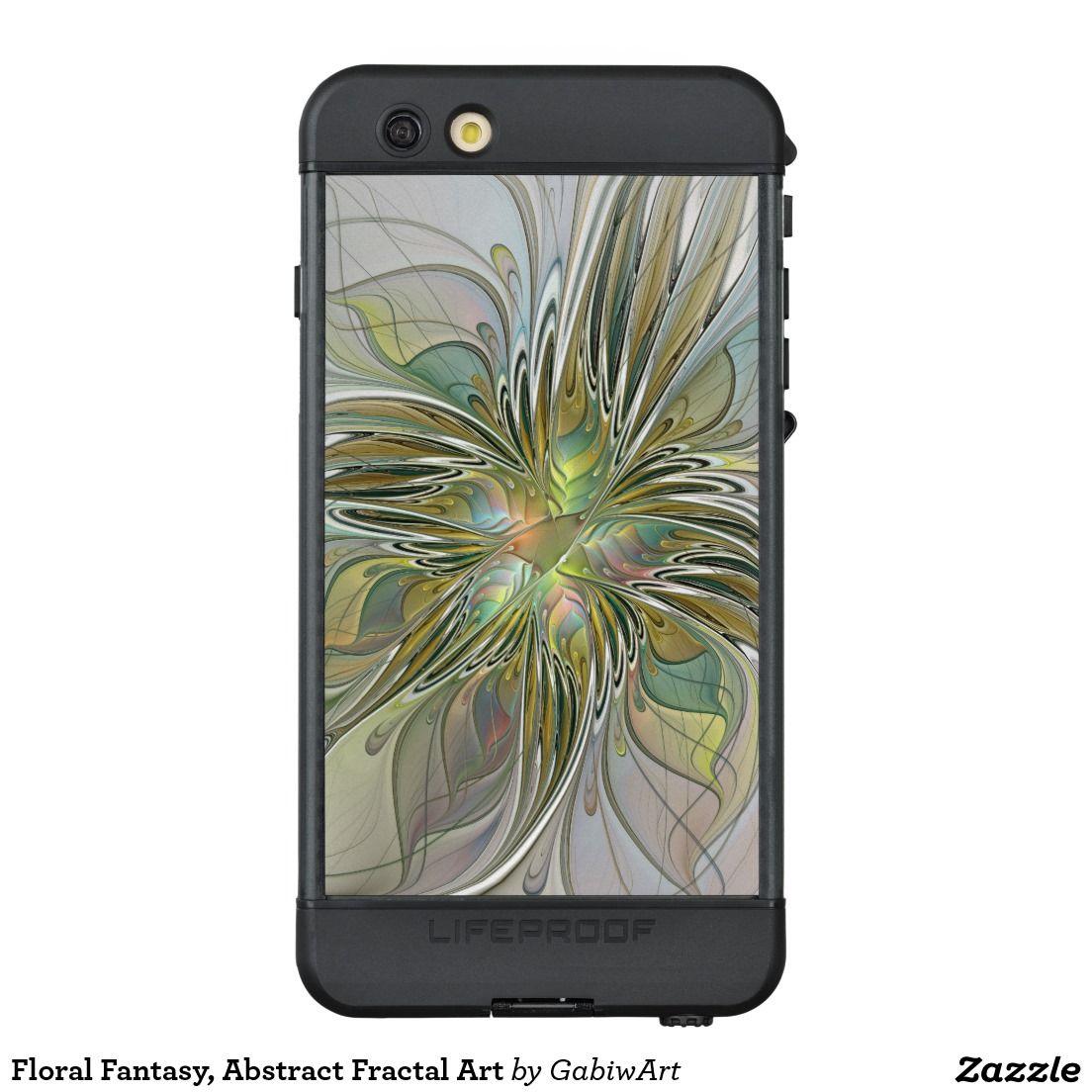 Floral Fantasy, Abstract Fractal Art LifeProof® NÜÜD® iPhone 6s Plus Case