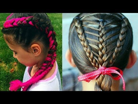 Peinados Para Ninas 2018 Para Fiesta Peinados Faciles Y Modernos