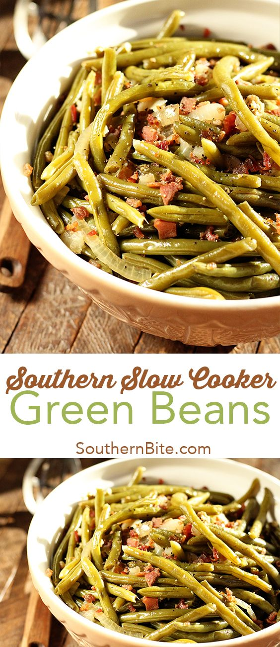 Southern slow cooker green beans recipe southern green beans free up space on the cooktop and make these easy southern green beans right in the forumfinder Image collections