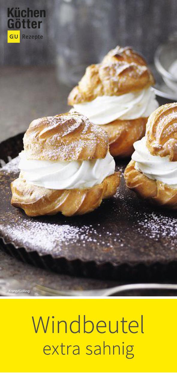 Extra-sahnige Windbeutel #creamcheeserecipes