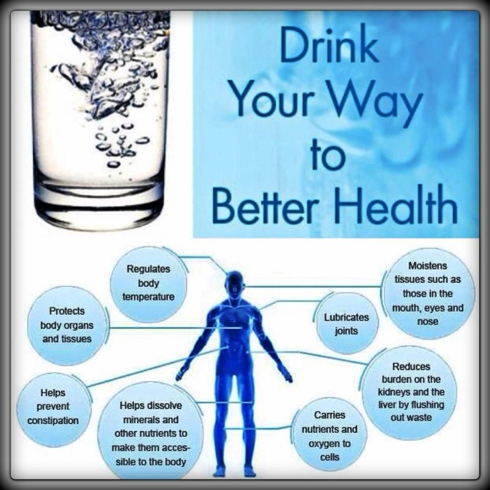 Drink Your Way To Better Health Health Drinks Water Health And Wellness Health