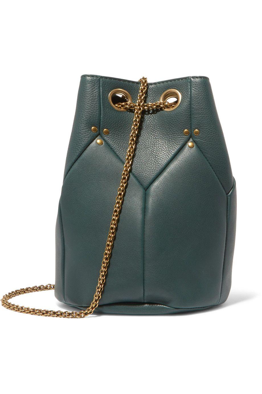 48b07e884d JÉRÔME DREYFUSS Popeye Textured-Leather Shoulder Bag.  jérômedreyfuss  bags   shoulder bags  leather