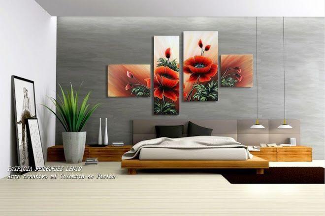 cuadros tripticos para dormitorios juveniles buscar con