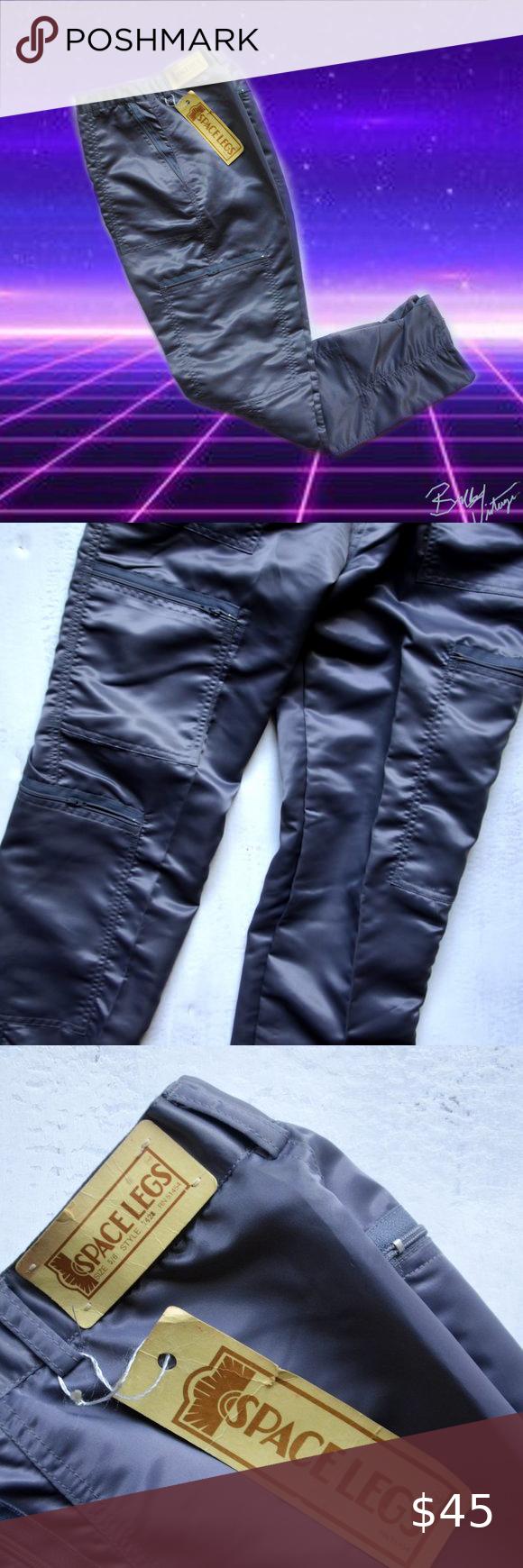 vintage 70s deadstock Space Legs skinny cargo pant