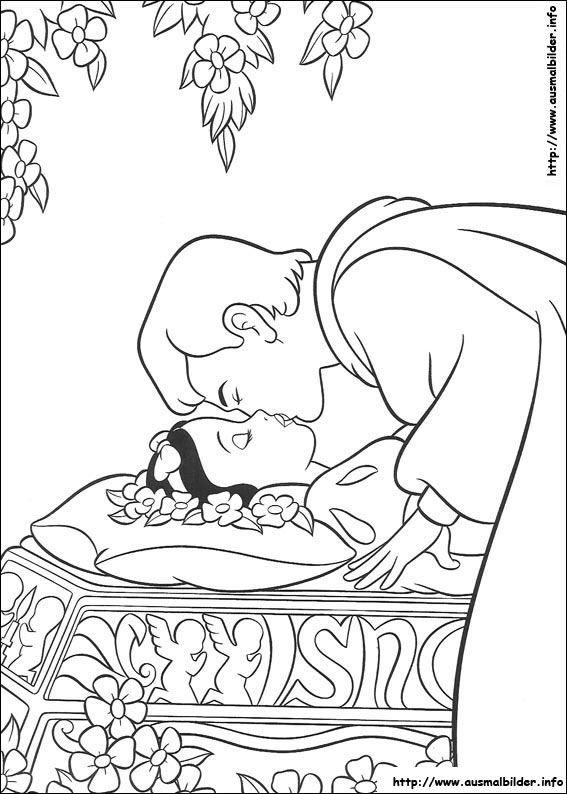 Schneewittchen Malvorlagen Disney Coloring Pages Snow White