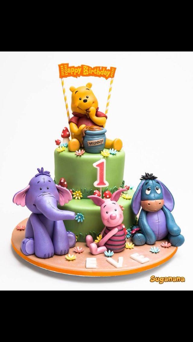 Winnie Pooh  Cake Inspiration    Kuchen Und Torten