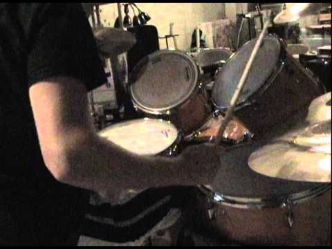 I do a drum solo for your viewing pleasure