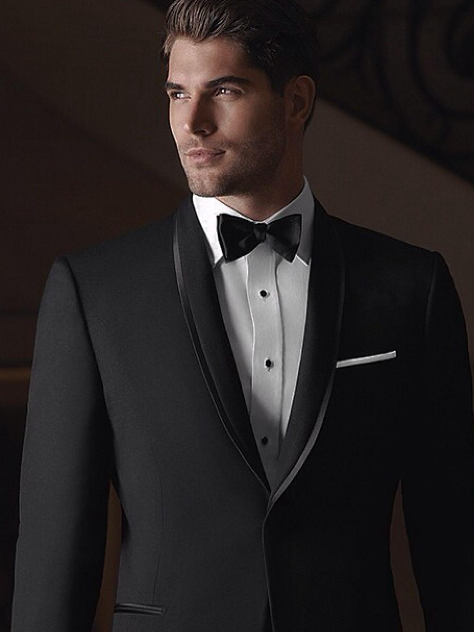 Miller Hart Groom tuxedo black, Wedding suits men black