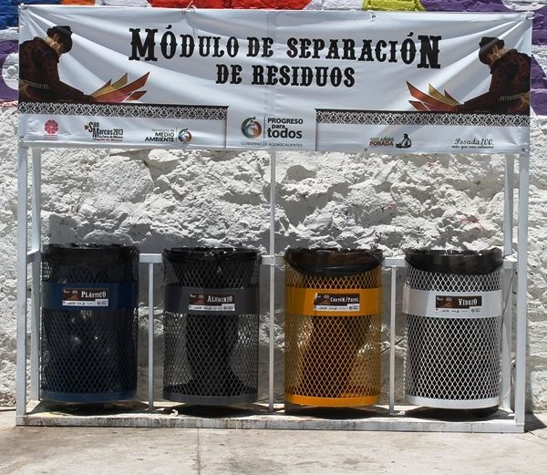 LA GRILLA: El Programa de Recolección de Residuos durante la Feria Nacional de San Marcos 2013, fue todo un Éxito.