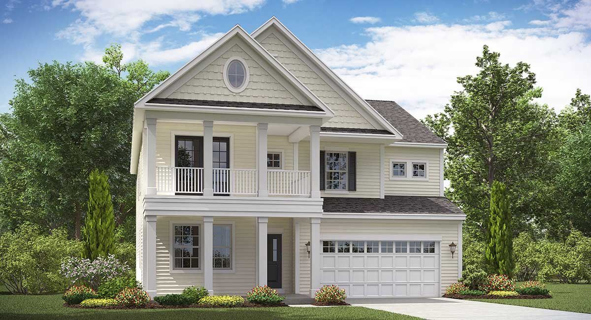 GAVIN New Home Plan in Moss Grove Arbor Collection New