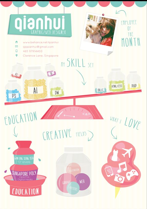 50 Awesome Resume Designs That Will Bag The Job | Resumes ...