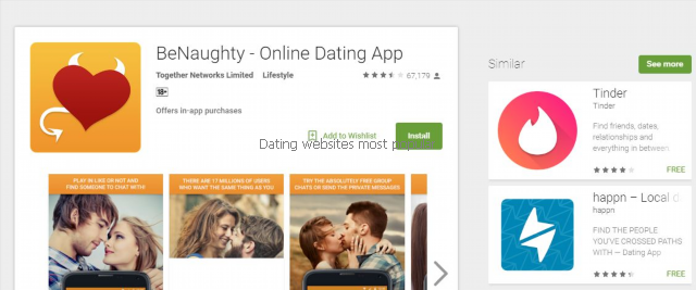 Top dating website apps