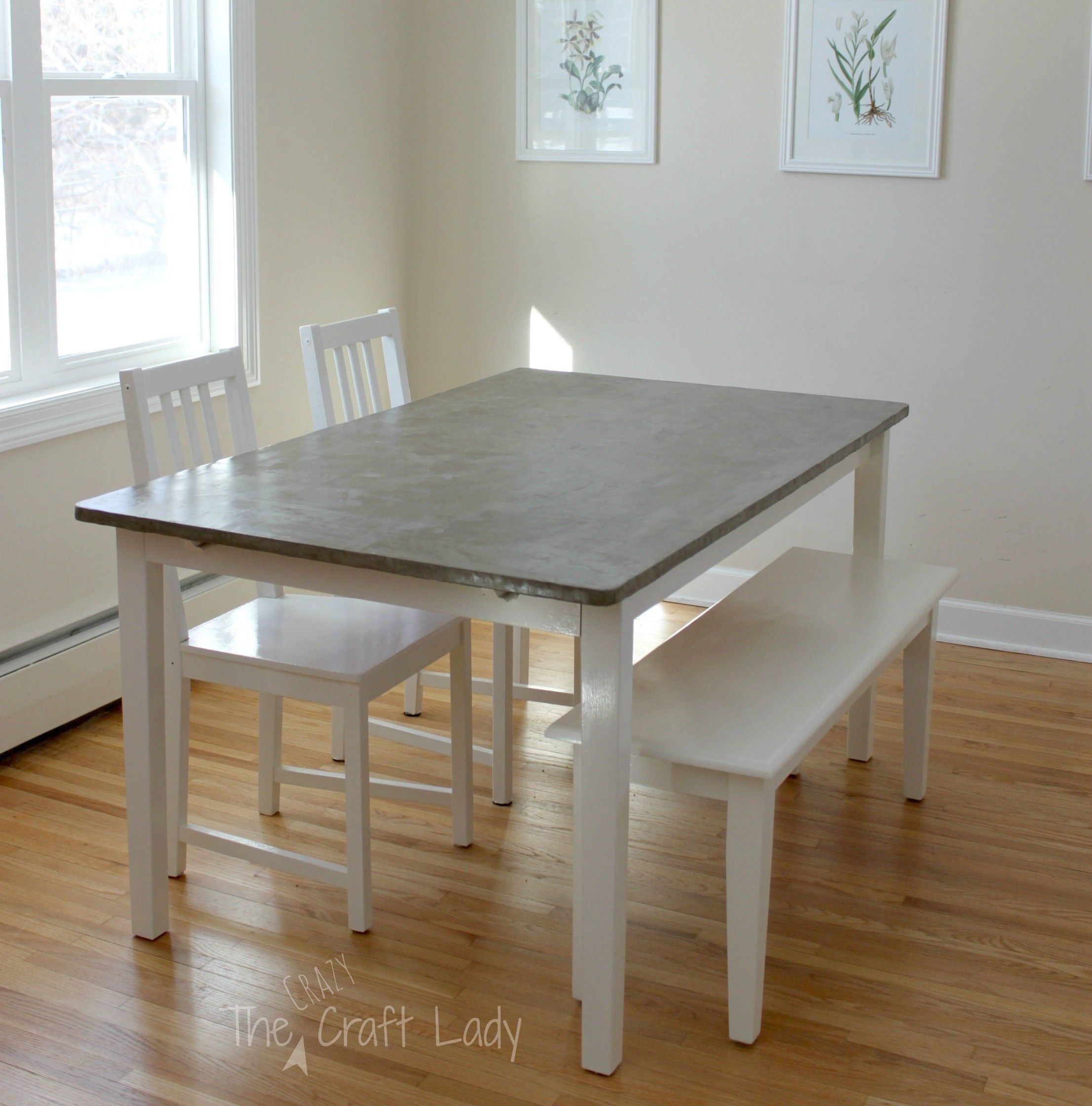 Room Agreeable Diy Concrete Dining Table Top
