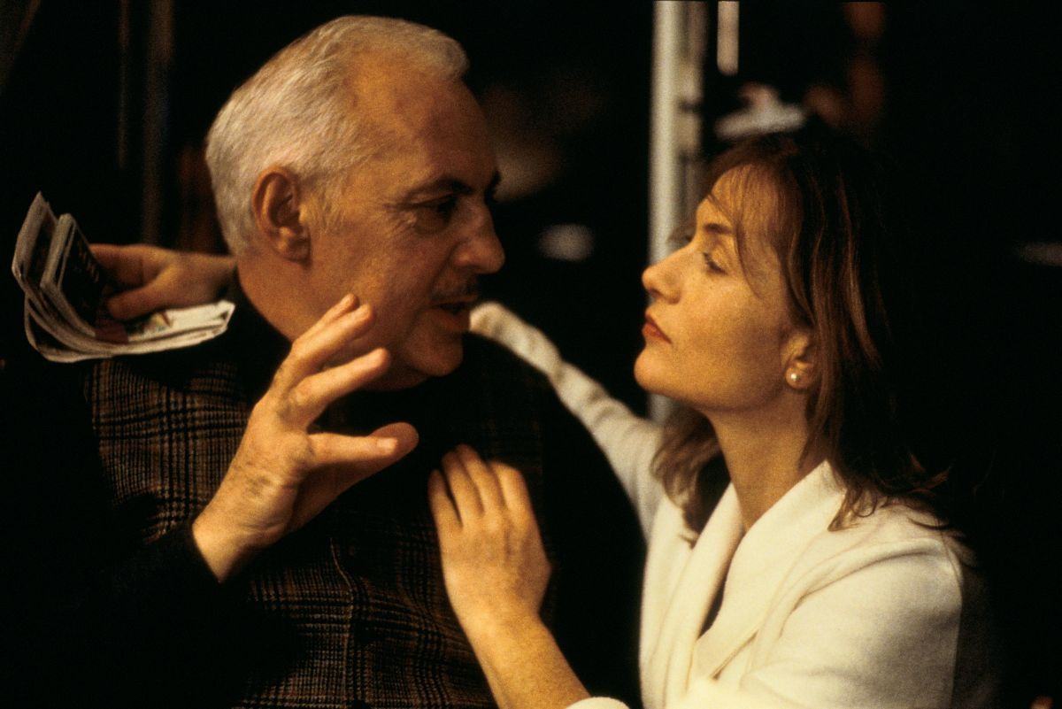 "Michel Serrault and Isabelle Huppert in ""Rien ne va plus"" (The Swindle) - Claude Chabrol - 1997"