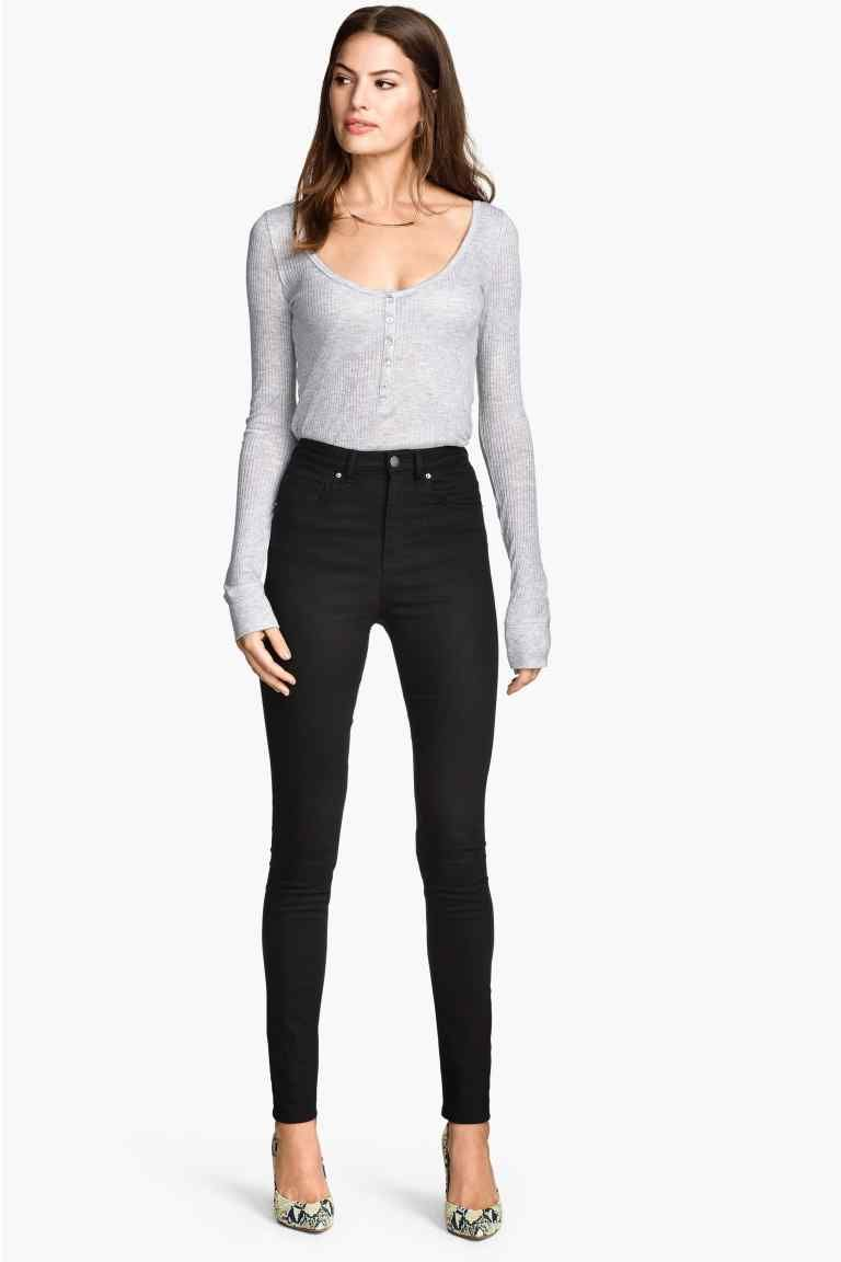 kalhoty s vysok m pasem h m wish list fashion pinterest pantalon taille haute taille. Black Bedroom Furniture Sets. Home Design Ideas