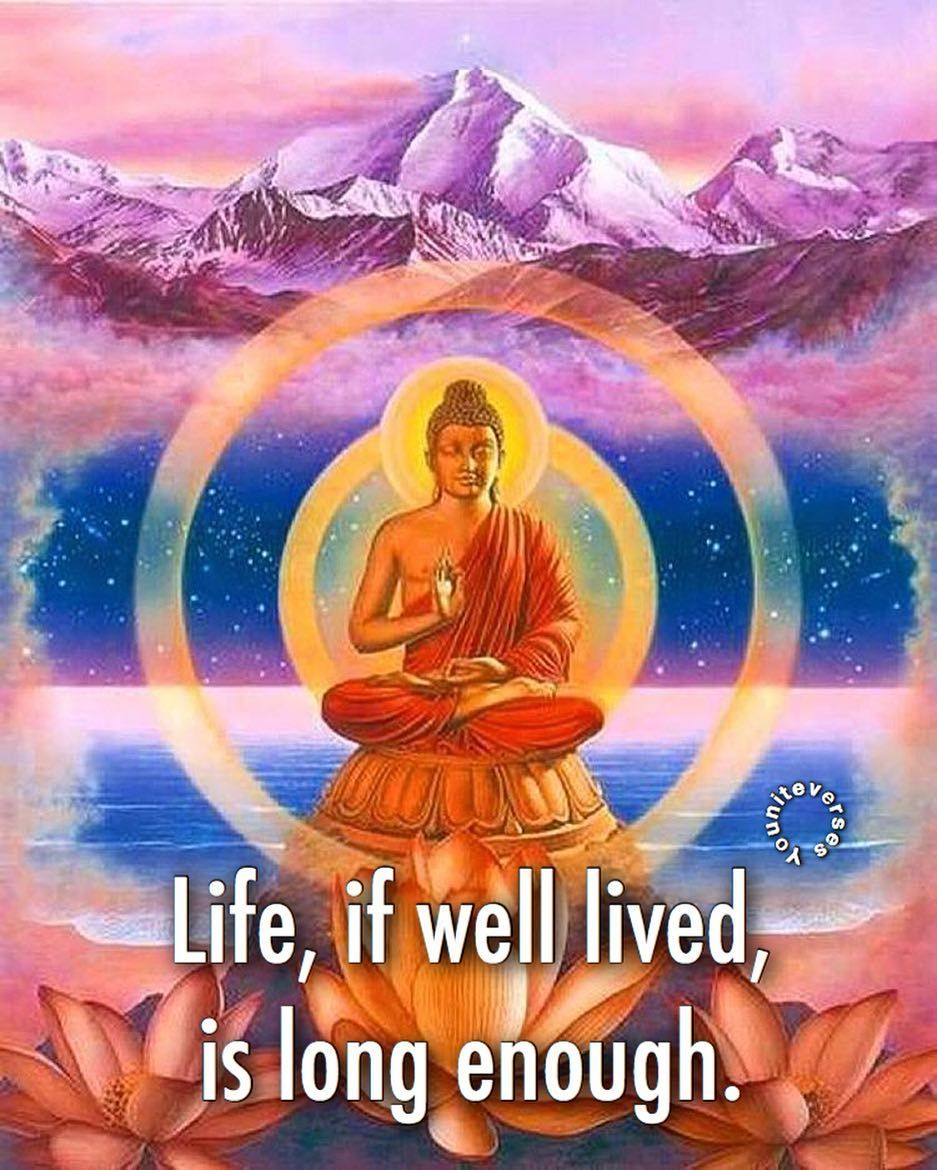 Even Though It Goes By Faster Than It Would Otherwise It Is Filled With So Much More Contentment That Doing The Spiritual Warrior Single And Happy Buddha Image