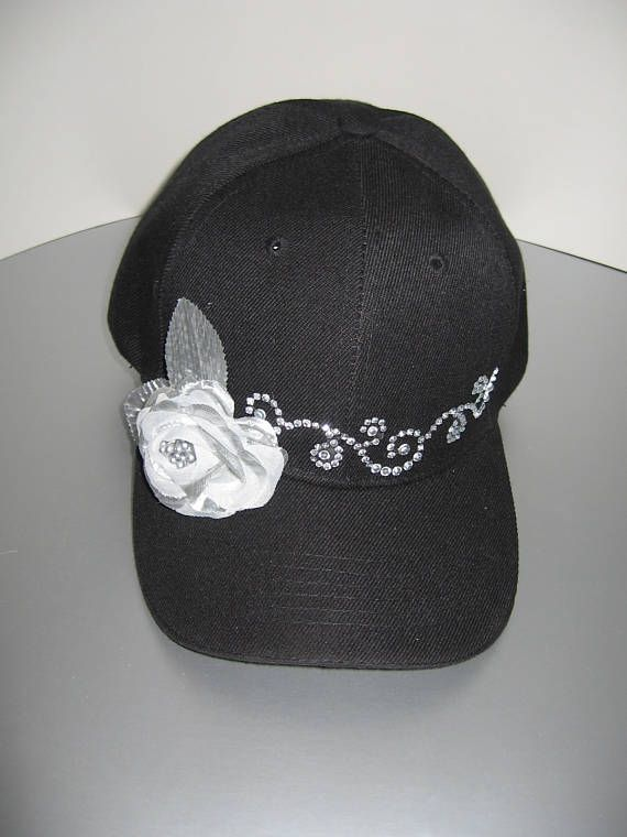 woman s fancy black golf cap fb4ff1c8695