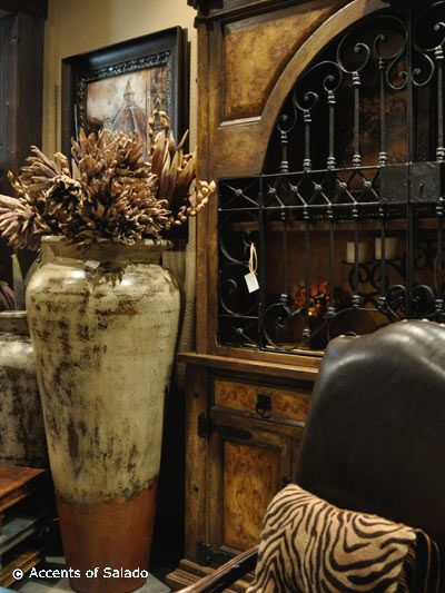 Rustic furniture at accents of salado for the home for Tuscan dining room wall art
