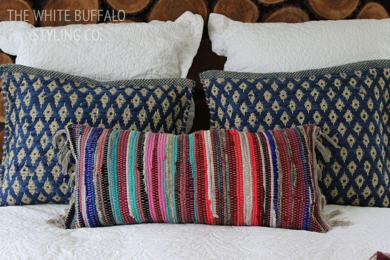 My secret for textured bohemian pillows