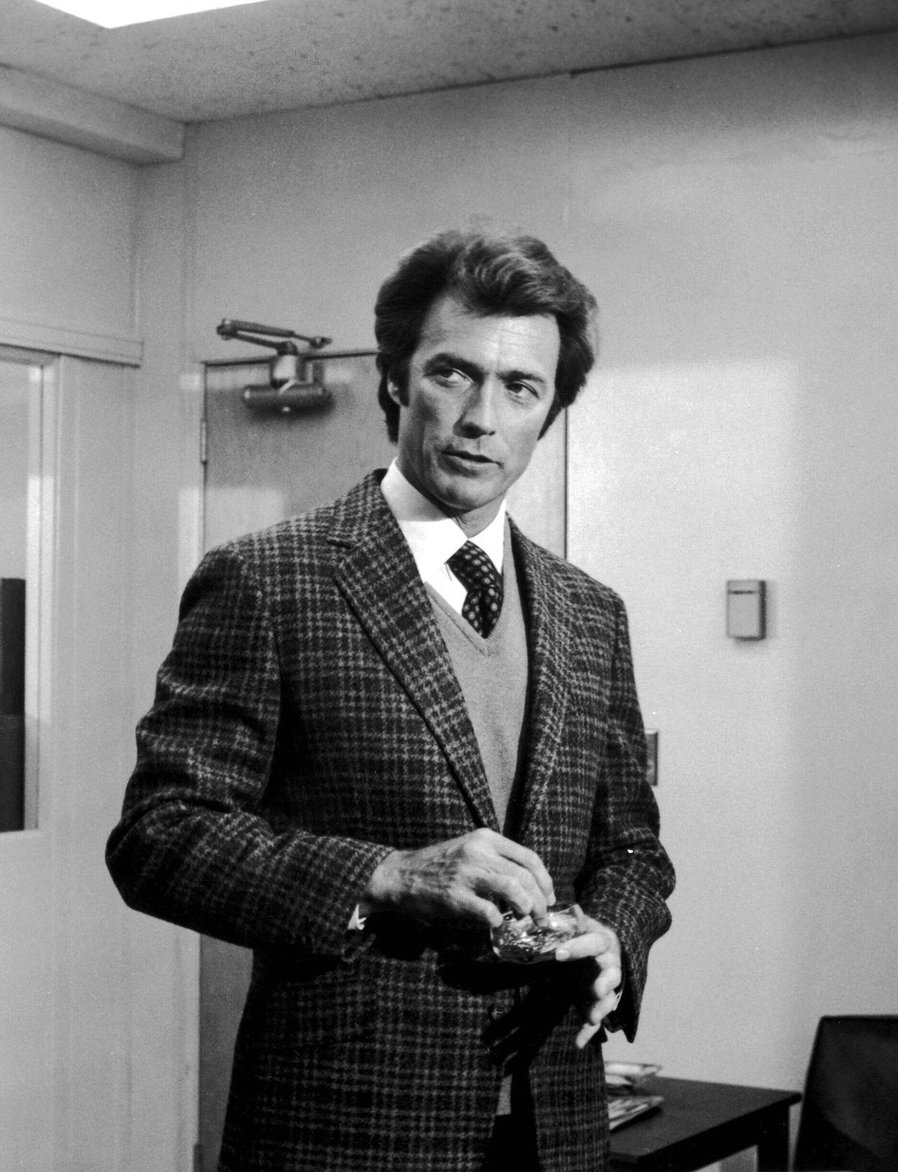 Deadly Tweed.Clint Eastwood, 1971. | Preppy Style: Late U ...