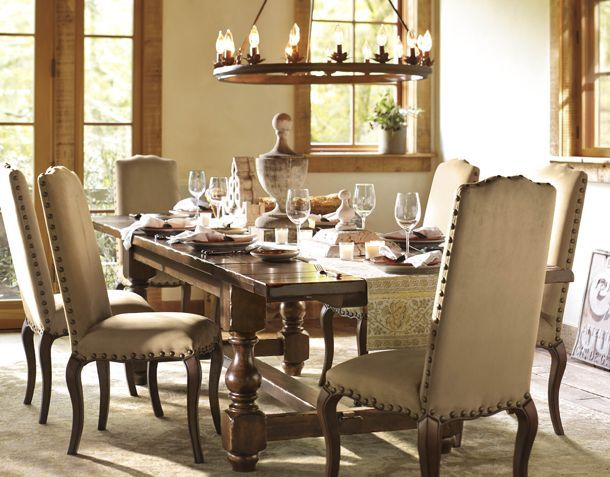 Dining Room Cortona Extending Dining Table Calais Chair