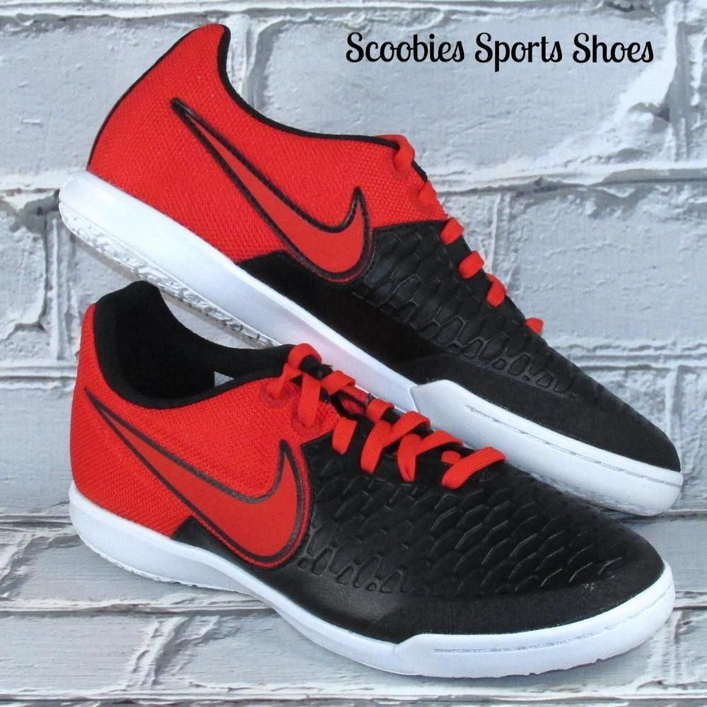 best authentic fb855 84b42 Nike Magista X Pro IC Indoor Soccer Shoes Size 7.5 Red Black  Nike
