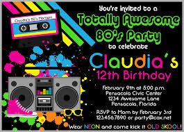 Image Result For 80s Party Invitations Free Birthday Personalized 90s Theme