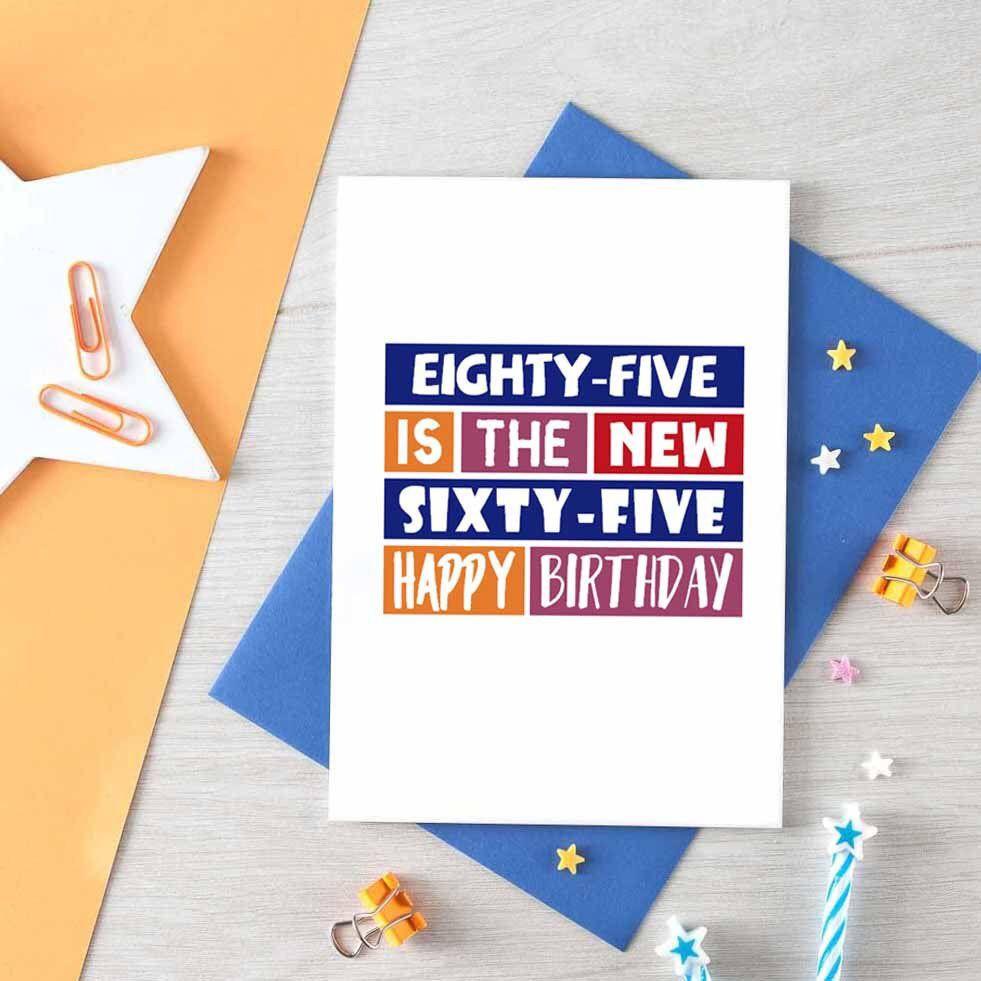 Eighty Fifth Birthday Card 85th Birthday Card Eighty Five Etsy Birthday Cards For Friends Birthday Card For Aunt Birthday Cards For Mum