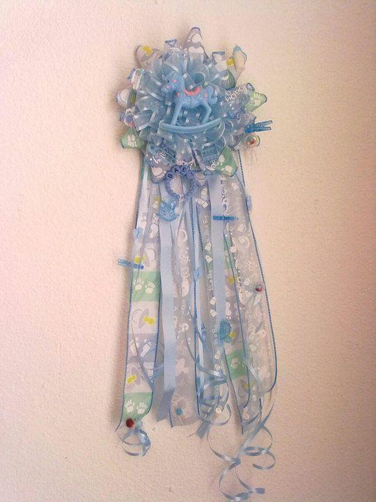 Corsage Baby Shower Boy Corsage Para Nino Fiestaideas