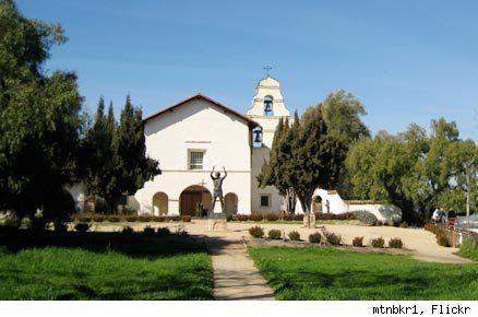 Famous Movie Locations: Mission San Juan Bautista from Vertigo (Northern California)