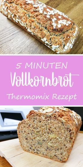 Photo of The fastest wholemeal bread in the world – dieHexenküche.de | Recipe ideas for the Thermomix TM5
