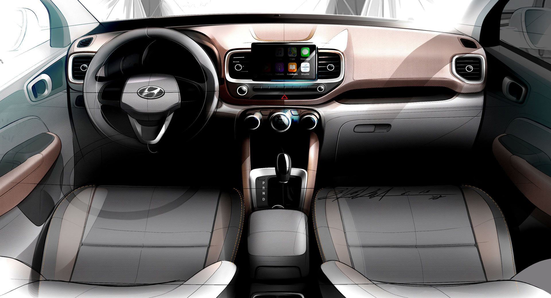 Hyundai Releases Venue Suv Sketches Before April 17 Debut With