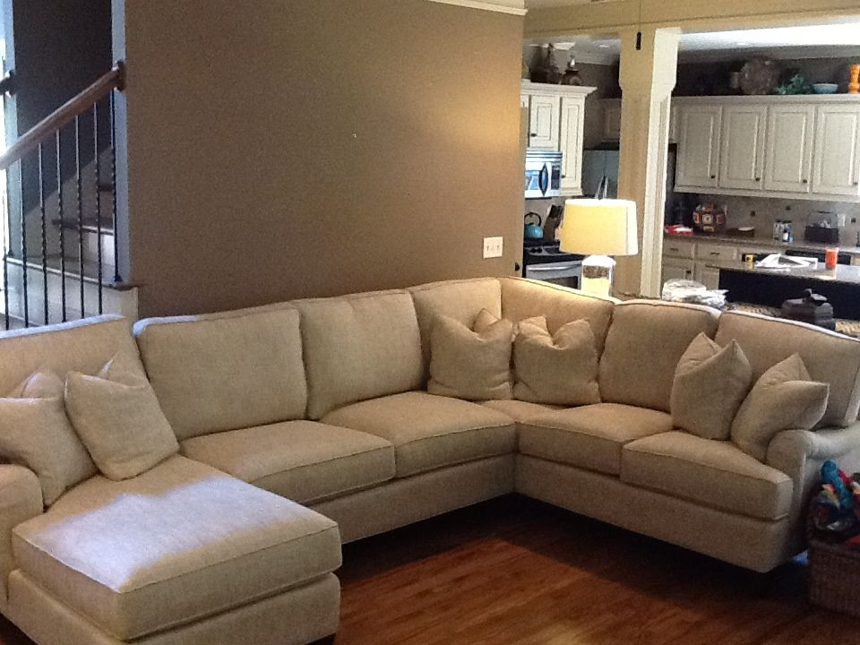 New sectional by King Hickory in Rockford Beige : king hickory sectional - Sectionals, Sofas & Couches
