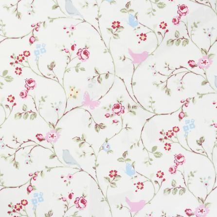 Multi Floral Bird Trail Bramble Floral Oilcloth Wipe Clean PVC Vinyl Tablecloth